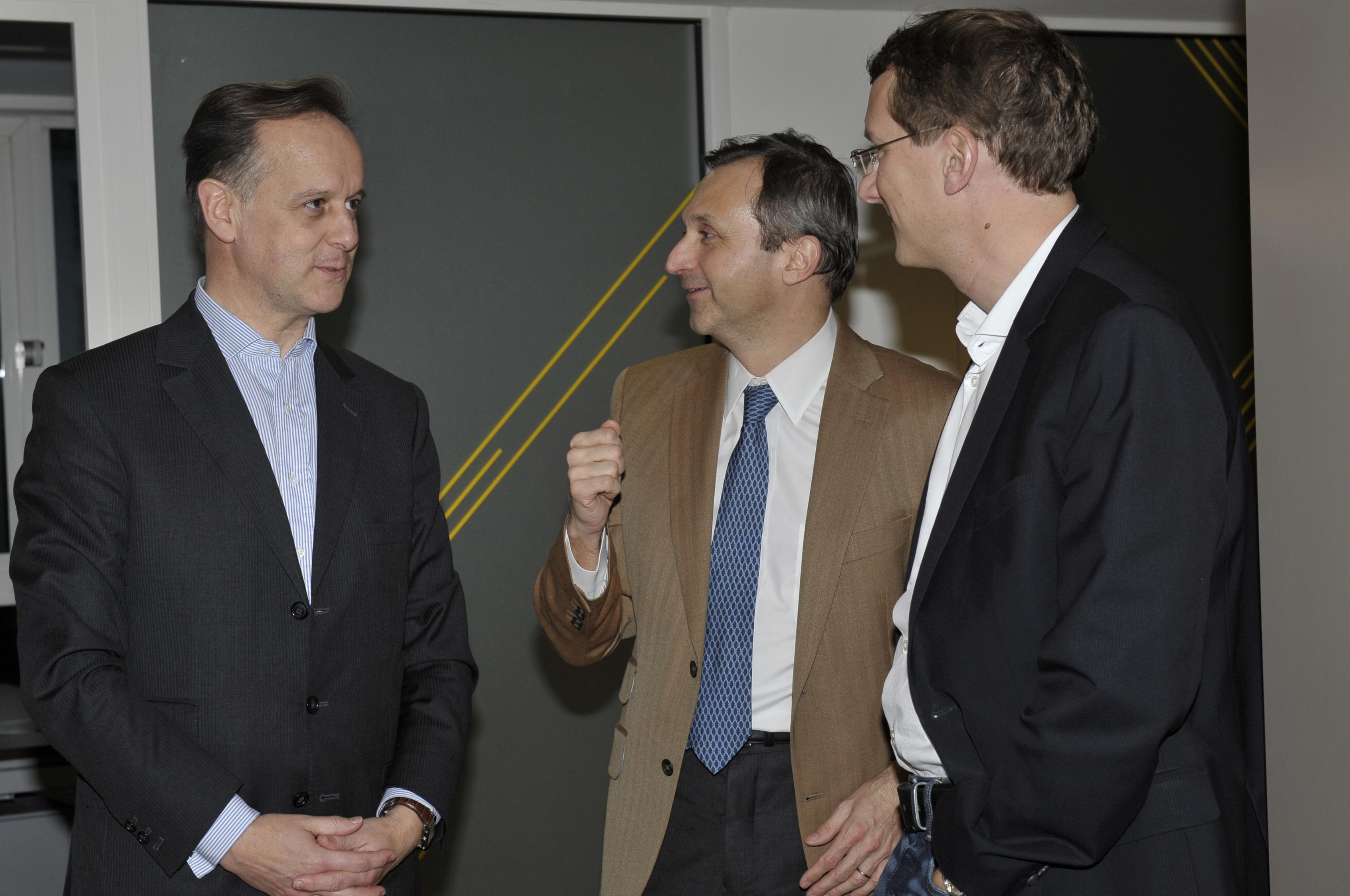 Photo Mardi du Lab du 5 mars 2013 avec J.Lefébure (et JG.BLIEK, Directeur du dév éco de Neuilly puis E.BROET, vice-Président de Warner Bros)