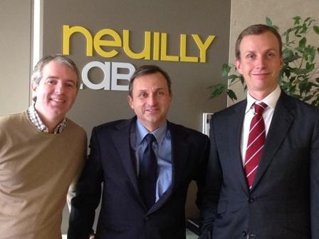 Lauréats de neuilly Nouveaux Medias juin 2013