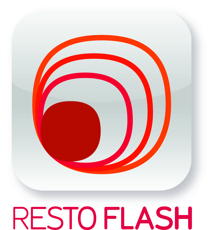 Logo de la société Resto Flash