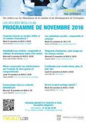 ateliers novembre 2016